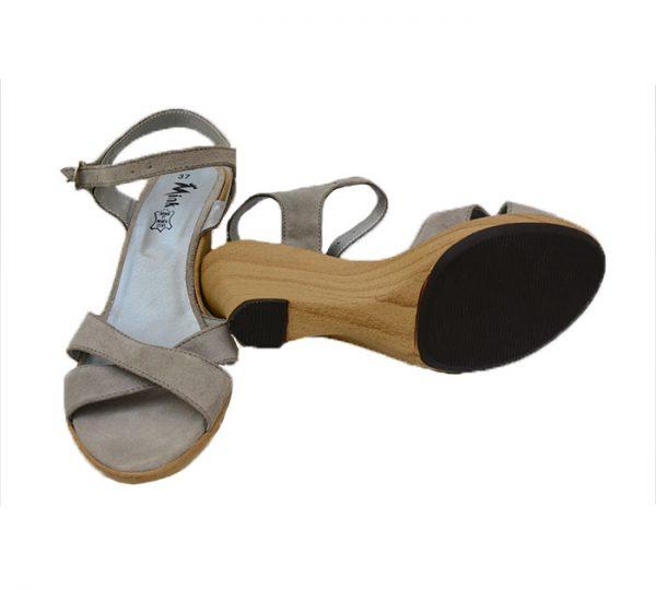 Sandálias Com Salto De Cuhna