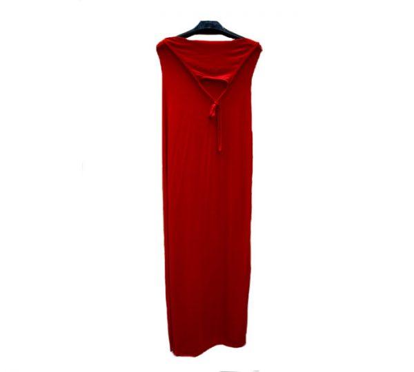Vestido Comprido Halterneck (Vermelho)