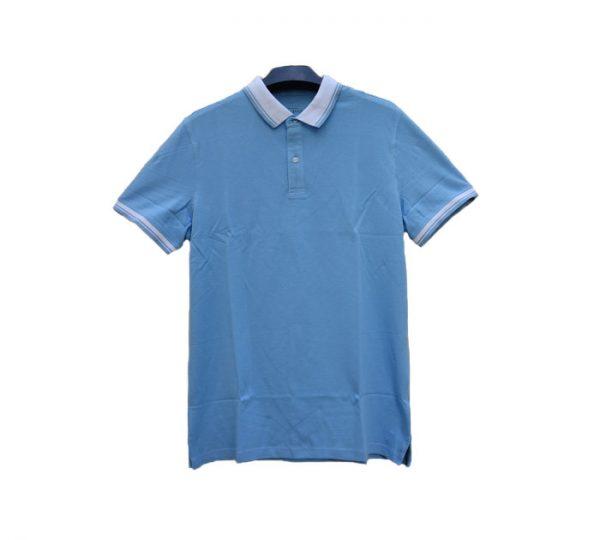 Camisa estilo Polo (azul)