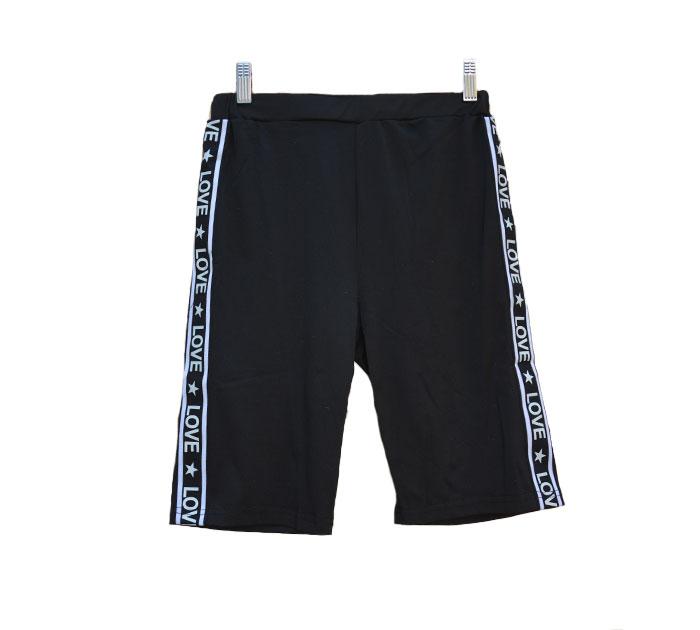 Shorts atlético (cintura alta)