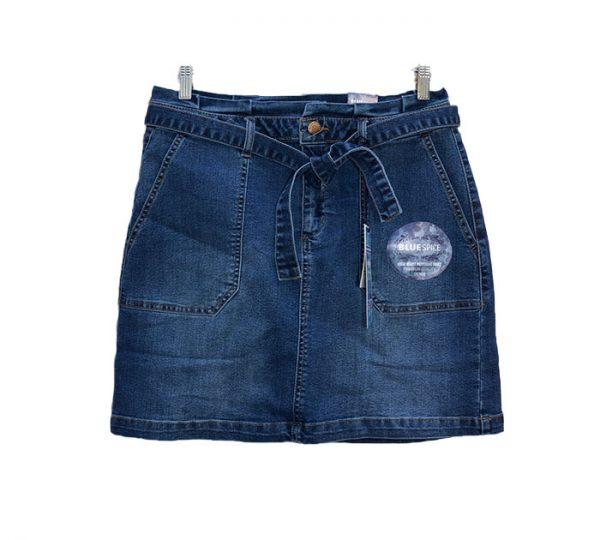 Mini saia (jeans)